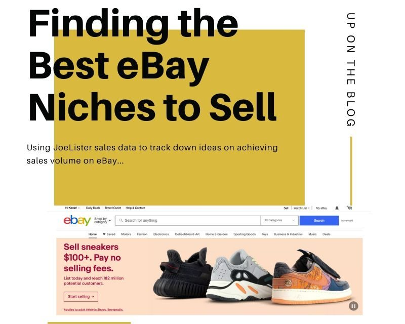 What Are The Best Ebay Niche Products Joelister A Blog For Amazon Ebay Sellers
