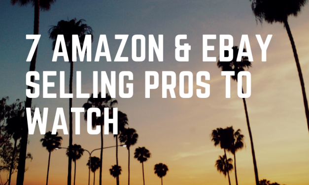 Seven Amazon & eBay Selling Pros to Watch