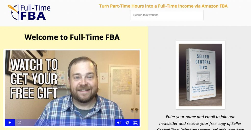 Amazon FBA Seller: Full-Time FBA