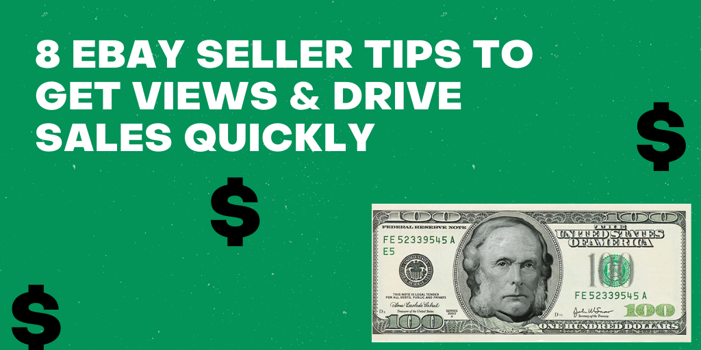 8 eBay Seller Tips to Drive Sales Quickly