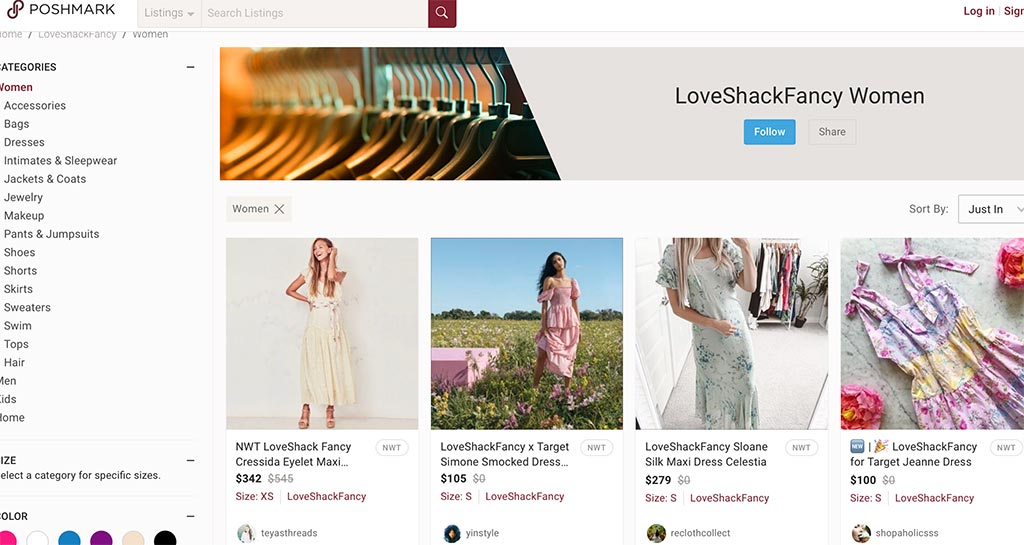 The 7 Best eCommerce Marketplaces for Online Sellers: Poshmark