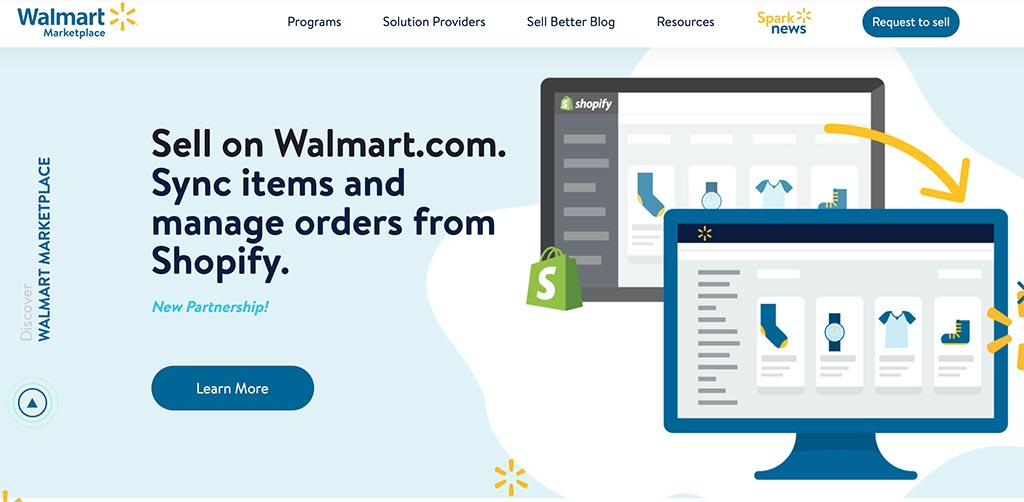 The 7 Best eCommerce Marketplaces for Online Sellers: Wal-Mart