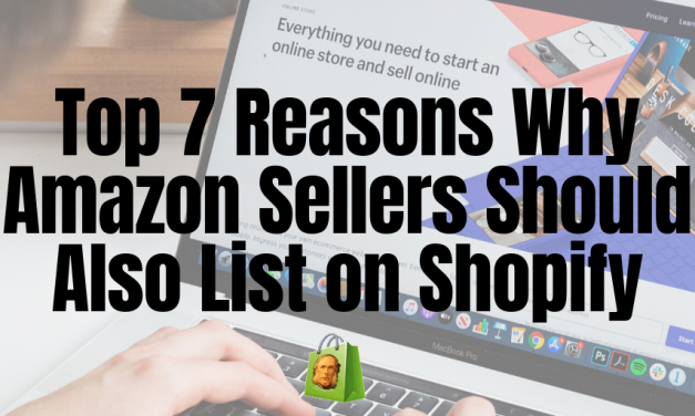 Top 7 Reasons Why Amazon Sellers Should Also List on Shopify