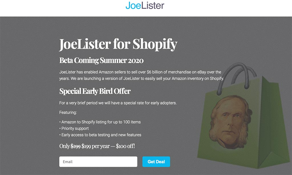 JoeLister for Shopify