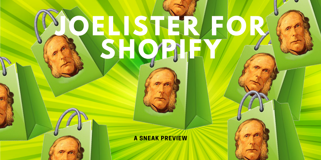 Amazon to Shopify Listing Done Easy: JoeLister for Shopify