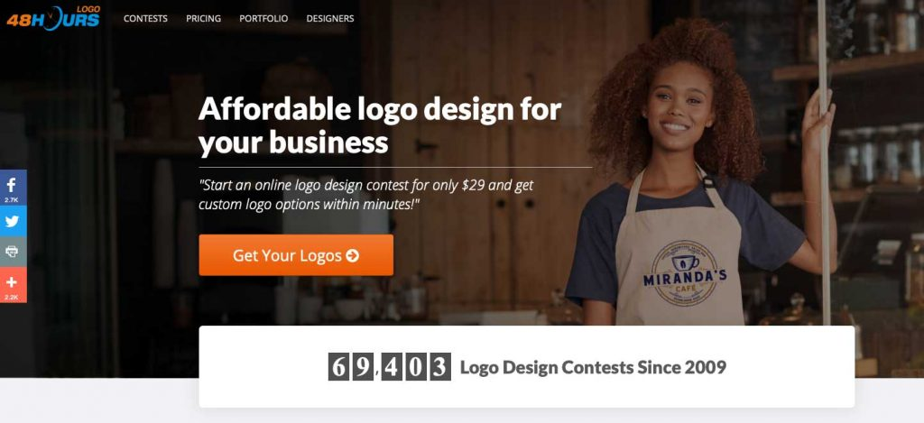 48 hours logo homepage