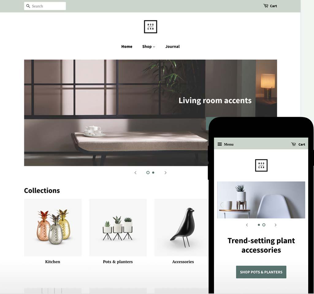 Shopify Free Theme: Minimal