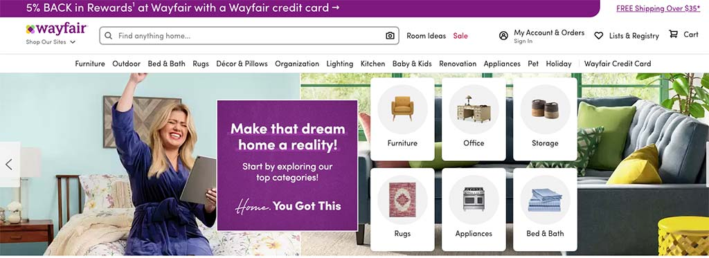 Wayfair is nothing but a dropshipping business.