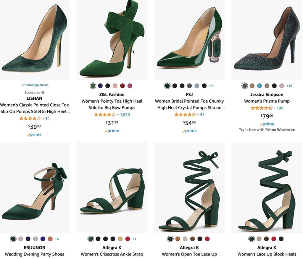 Green Heels Keyword